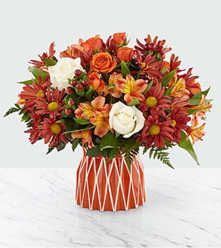 Shades of Autumn in Vase