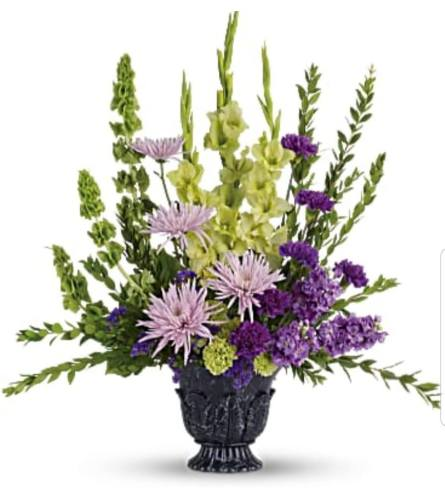 Cherished Lavender Tribute