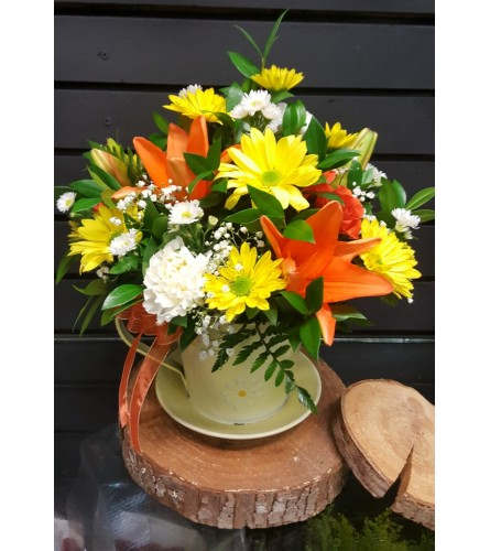 Sweet Daisy Container