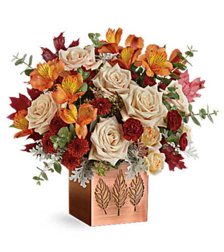 Shimmering Leaves fall bouquet