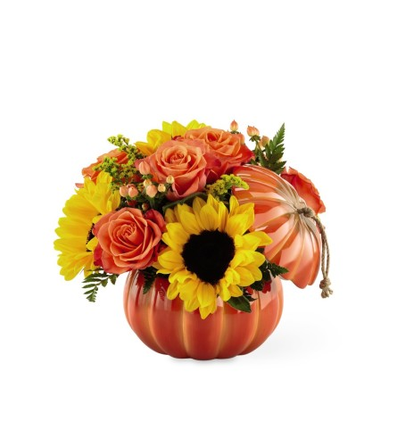 Harvest Traditions™ Ceramic Pumpkin BY FTD