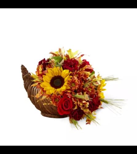 Fall Harvest™ Cornucopia by FTD flowers