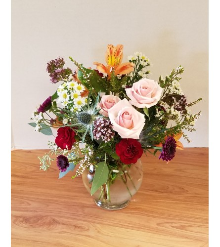 Garden Bowl Bouquet