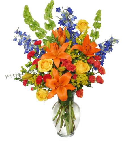 AWE-INSPIRING AUTUMN Floral Arrangement - FSN