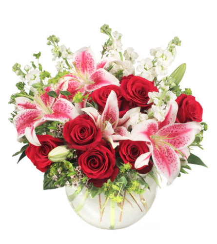 STARTS IN THE HEART Flower Arrangement - FSN