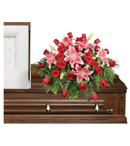 DEDICATION OF LOVE Funeral Flowers - FSN