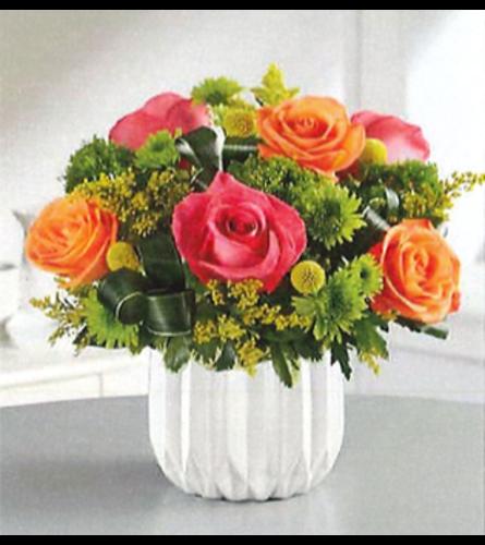 Our Sunset Bouquet