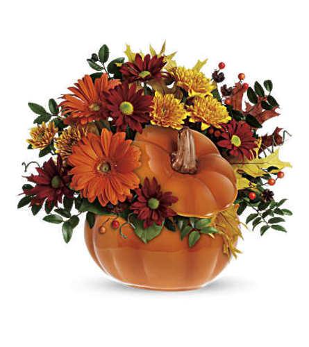 Teleflora Country Pumpkin