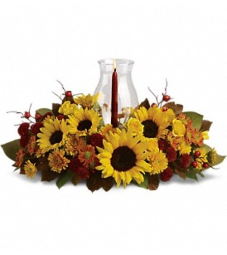 Sunflower Centerpiece Arrangement by Teleflora