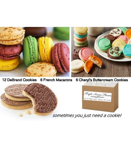 Yummy Cookie Gift Basket