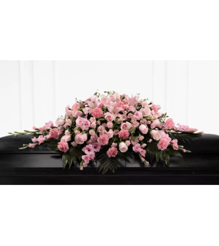 Sweetly Rest™ Casket Spray by FTD Flowers