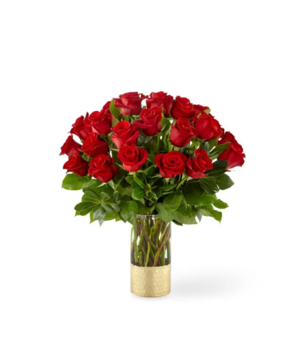 FTD® Gorgeous™ Red Rose Arrangement