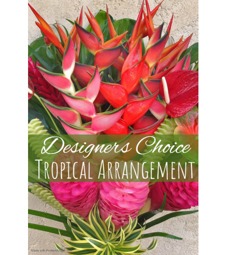 Tropical Vibes Florist Design
