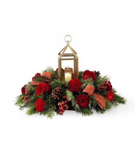 I'll be home for Christmas™ Centerpiece by FTD