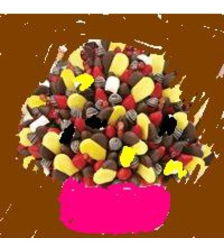 editable flowers party piece
