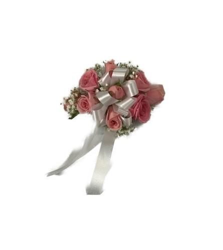 Lavender Mini Rose Wrist Corsage *PLEASE CALL TO ORDER*