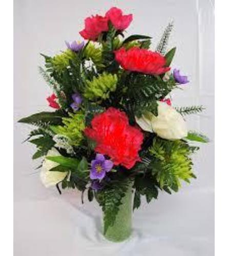grave site bouquet