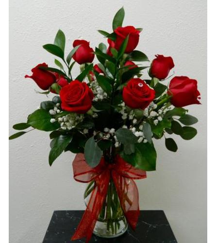 Classic One Dozen Roses