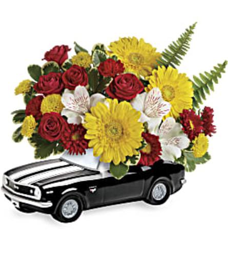 '67 Black Chevy Camaro Bouquet