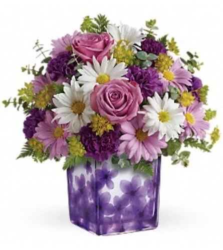 The Dancing Violets Bouquet