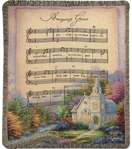 CHURCH IN THE COUNTRY/AMAZING GRACE AFGHAN