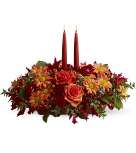 Autumn Lights Centerpiece TF