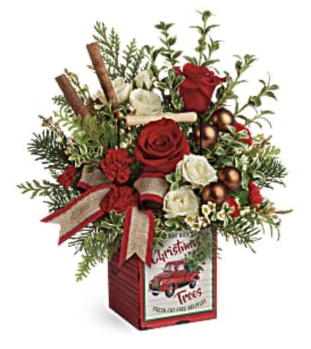 Quaint Christmas Bouquet by Teleflora