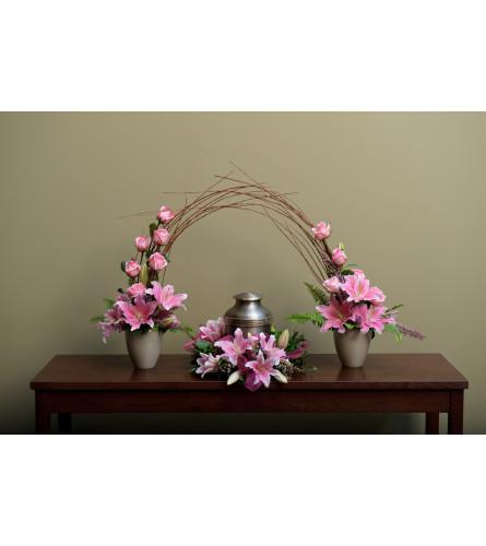 Urn Wreath