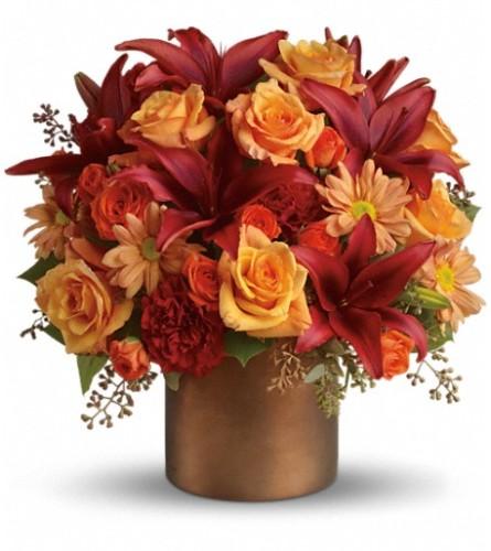 Teleflora's Amazing Autumn arrangement