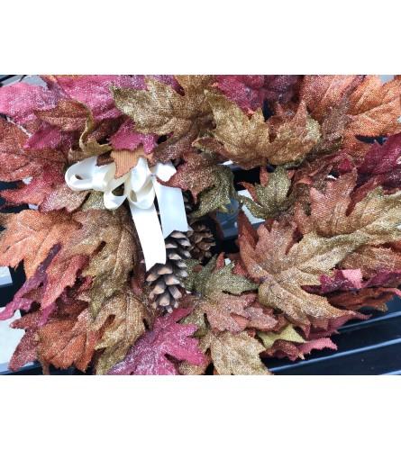 Autumn Mapel Wreath