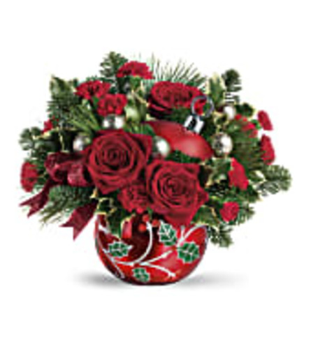 DECK THE HOLLY by Teleflora