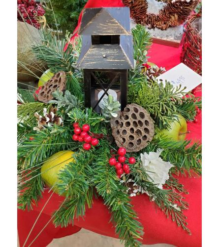 Artificial Holiday Lantern