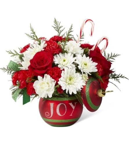 Season's Joyful Greetings Bouquet