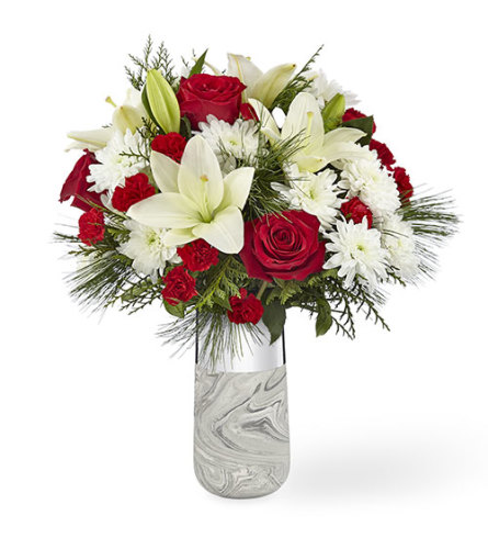 Dreaming of a White Christmas Bouquet