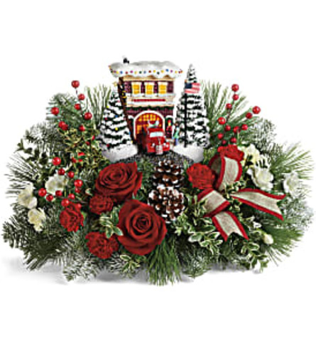 Holiday Hero's Festive Bouquet