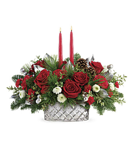 Christmas in Mercury Centerpiece