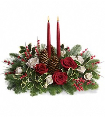 Teleflora's Christmas Wishes Centerpiece