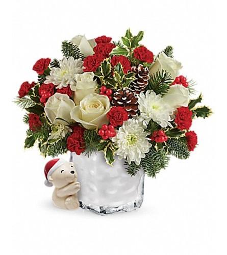 Send a Hug Polar bear Bouquet