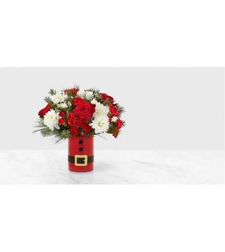 The FTD  Let's All Be Jolly Bouquet