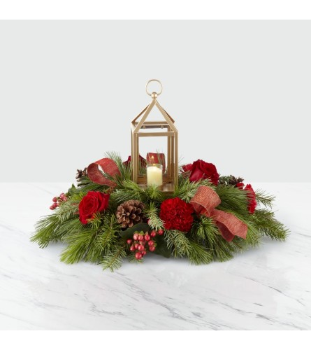 I'll Be Home for Christmas Centerpiece C3
