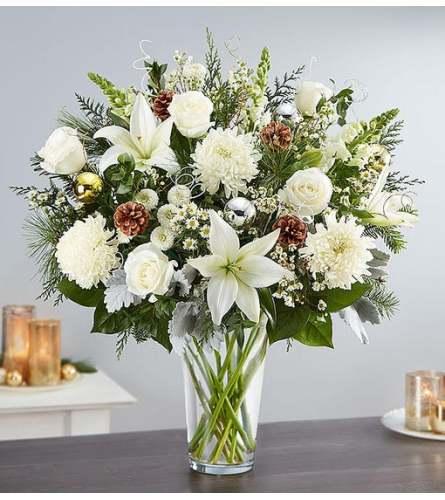 Dazzling Winter Flower Arrangement
