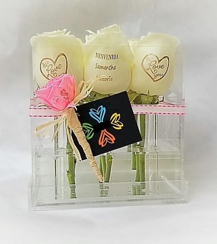 Custom Petals Fresh 9 roses in Box
