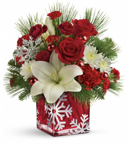 TF Snowflake Wonder Bouquet