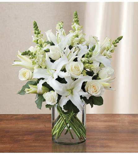 The Classic All White Arrangement™