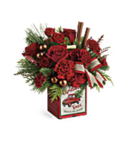 TF Merry Vintage Christmas Bouquet