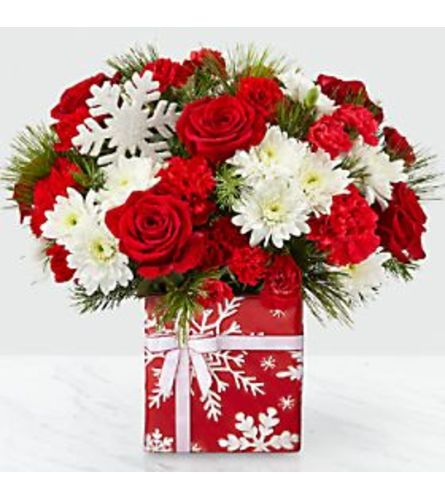 Red Gift of Joy Bouquet