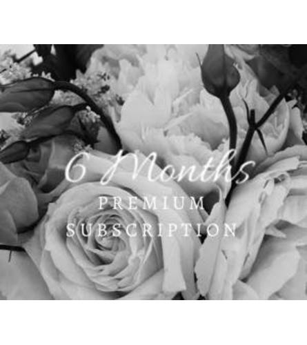 Subscription Florals - Premium Package