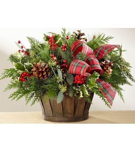 Cozy Holiday Basket