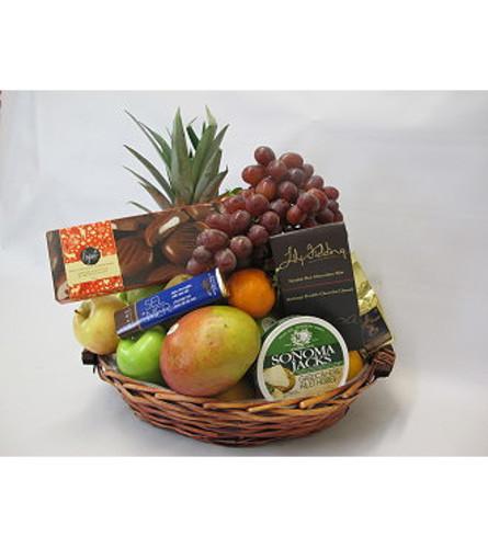 FRUIT AND GOURMET BASKET EXTRA LARGE