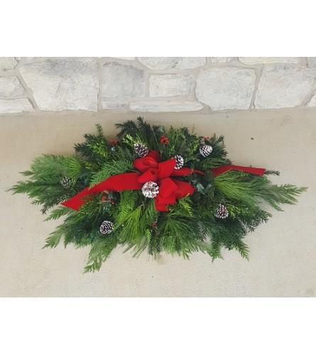 Christmas Graveside Blanket